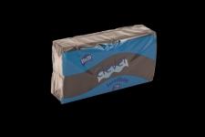 Servilleta de color negro 20x20 de 2 capas, en calidad tissue. Caja pequeña de 32 paquetes. Indicada para desayunos, meriendas, posavasos, cóctel,etc. Caja de 32 paquetes de 100 servilletas.