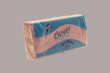 Servilleta de color lila 20x20 de 2 capas, en calidad tissue. Caja pequeña de 32 paquetes. Indicada para desayunos, meriendas, posavasos, cóctel,etc. Caja de 32 paquetes de 100 servilletas.