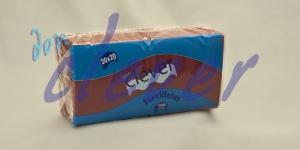 Servilleta de color burdeos 20x20 de 2 capas, en calidad tissue microgofrada. Indicada para desayunos, meriendas, posavasos, cóctel,etc. Caja de 28 paquetes de 100 servilletas.