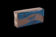 Servilleta de color marrón chocolate 20x20 de 2 capas, en calidad tissue microgofrada. Indicada para desayunos, meriendas, posavasos, cóctel,etc. Caja de 28 paquetes de 100 servilletas.