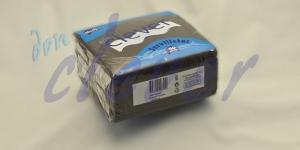 Servilleta para comedor de color negro 40x40 de 2 capas en calidad tissue Punta-Punta. Este acabado hace que la servilleta sea más fuerte y de mayor absorción. Caja de 24 paquetes de 50 servilletas.