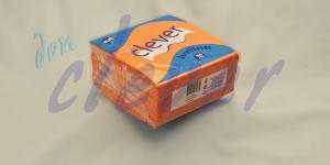 Servilleta para comedor de color naranja 40x40 de 2 capas en calidad tissue Punta-Punta. Este acabado hace que la servilleta sea más fuerte y de mayor absorción. Caja de 24 paquetes de 50 servilletas.