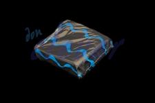 Servilleta para comedor de color negro 40x40 de 2 capas, calidad tissue. Caja de 16 paquetes de 50 servilletas.