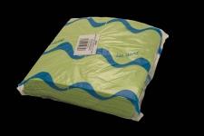 Servilleta para comedor de color verde pistacho 40x40 de 2 capas, calidad tissue. Caja de 16 paquetes de 50 servilletas.