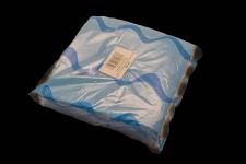 Servilleta para comedor de color azul turquesa 40x40 de 2 capas, calidad tissue. Caja de 16 paquetes de 50 servilletas.