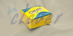 Servilleta para comedor de color amarillo 40x40 de 2 capas en calidad tissue Punta-Punta. Este acabado hace que la servilleta sea más fuerte y de mayor absorción. Caja de 24 paquetes de 50 servilletas.